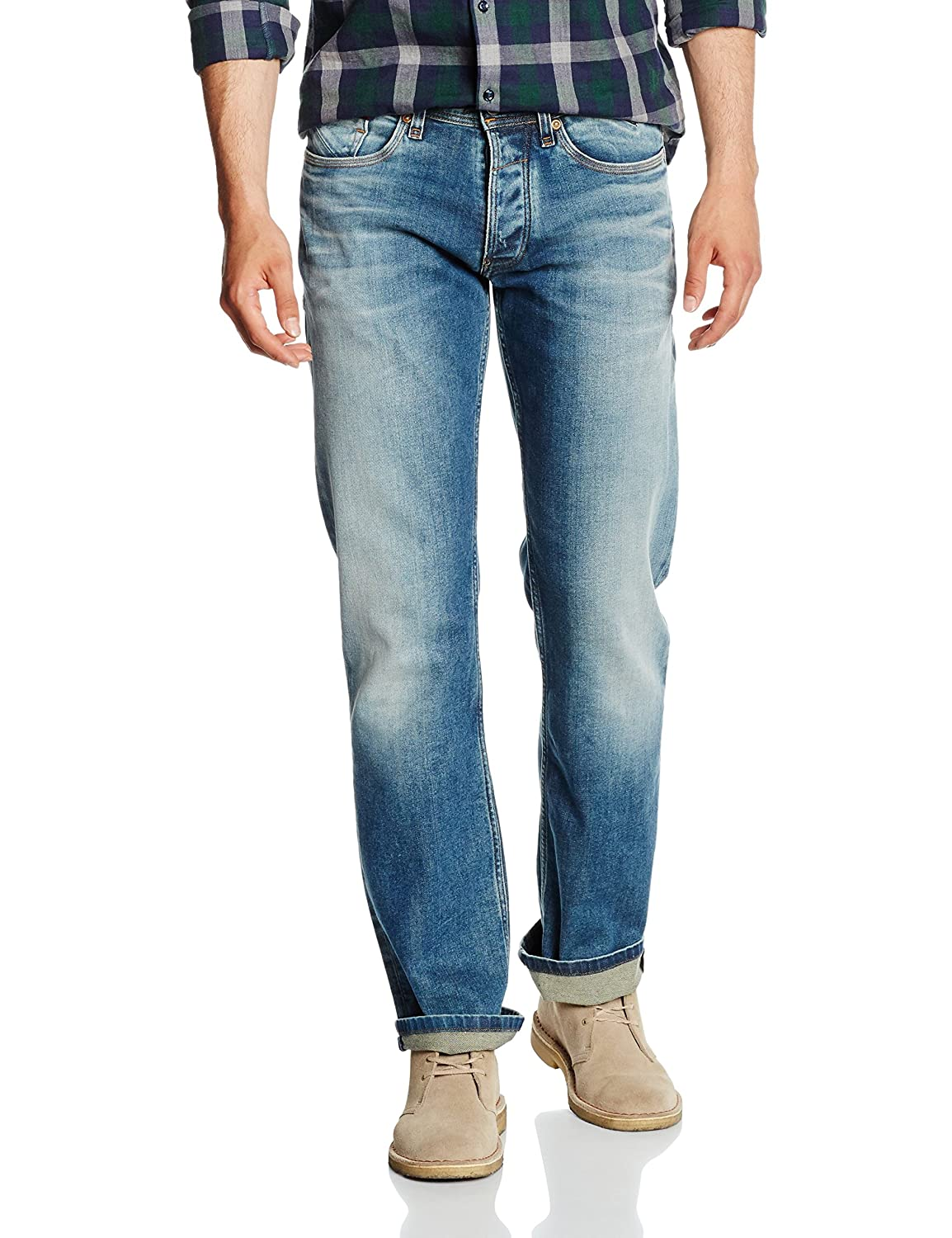 Hilfiger Denim Herren Jeanshose Original Straight Ryan Oics