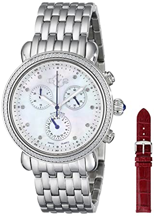 bulova collection watch diamond mop automatic womens p open heart dial s stainless women