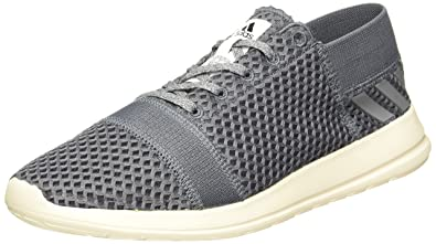 adidas Men's Element Refine 3 M Onix, Grey and Cwhite Running Shoes - 10 UK