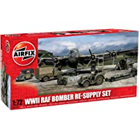 Airfix WWII Bomber Re-Supply Set - 1:72 Scale Model Kit