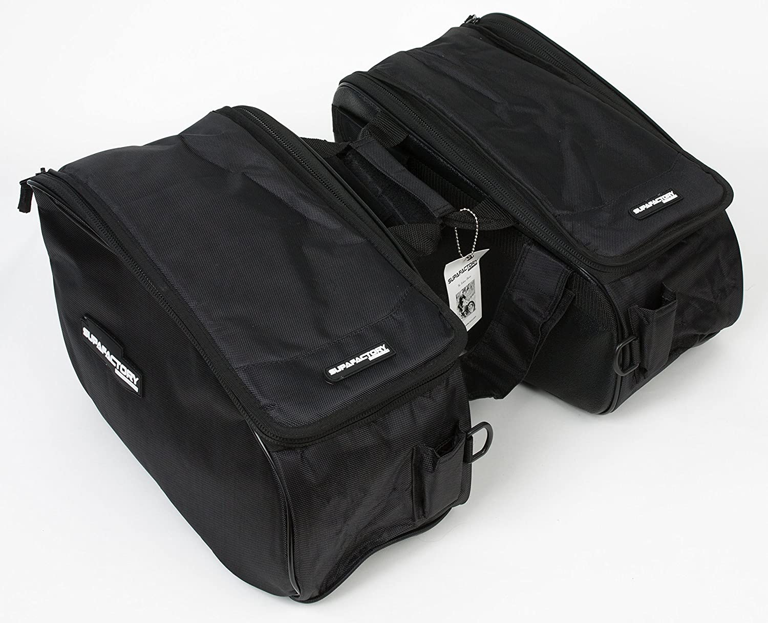 Supafactory Saddle Bags/Panniers For Motorcycles & Motorbikes (SF-SB-A1) Supafactory®