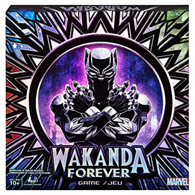 Marvel Wakanda Forever Black Panther Dice-Rolling Game for Families, Teens & Adults: Toys & Games