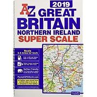 Great Britain Super Scale Road Atlas 2019 (A3 Spiral)