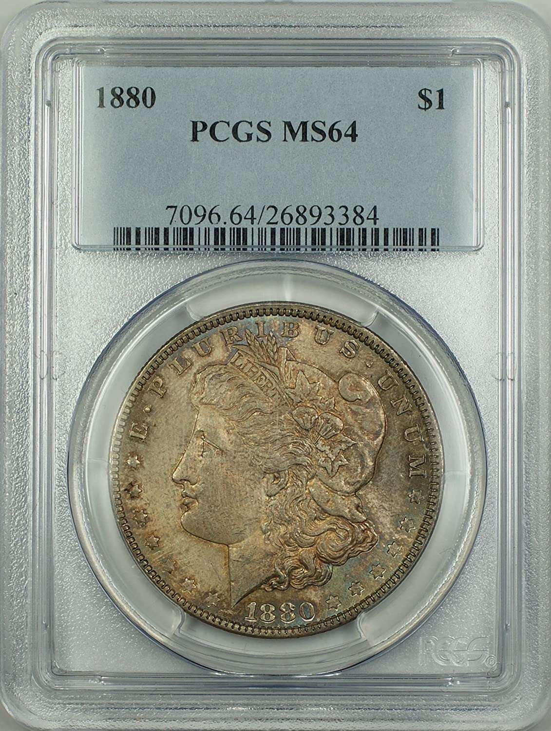 1887 Morgan Silver Dollars PCGS MS64 1886 1880 all sold out 1880-S
