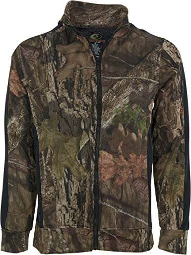 "Mossy Oak Men/'s 1//4 Zip Lightweight Performance Pullover Top /""Mountain Country/"""