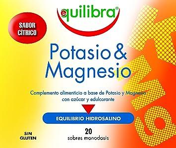 Equilibra Potasio y Magnesio - 140 gr: Amazon.es: Salud y cuidado personal