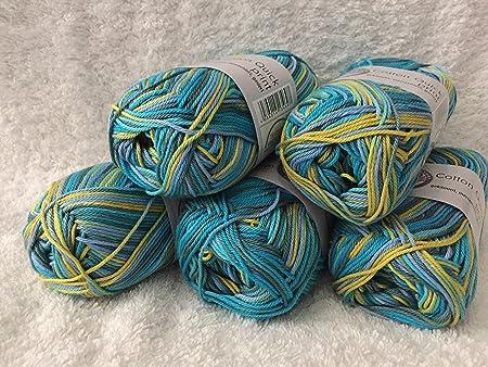 Cotton Quick Print Gründl 100baumwolle50g125mhäkeln Stricken