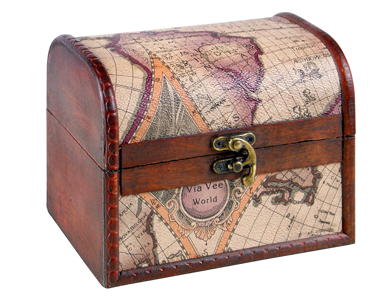 Brynnberg large treasure chest with Lock with Key, Decopackage