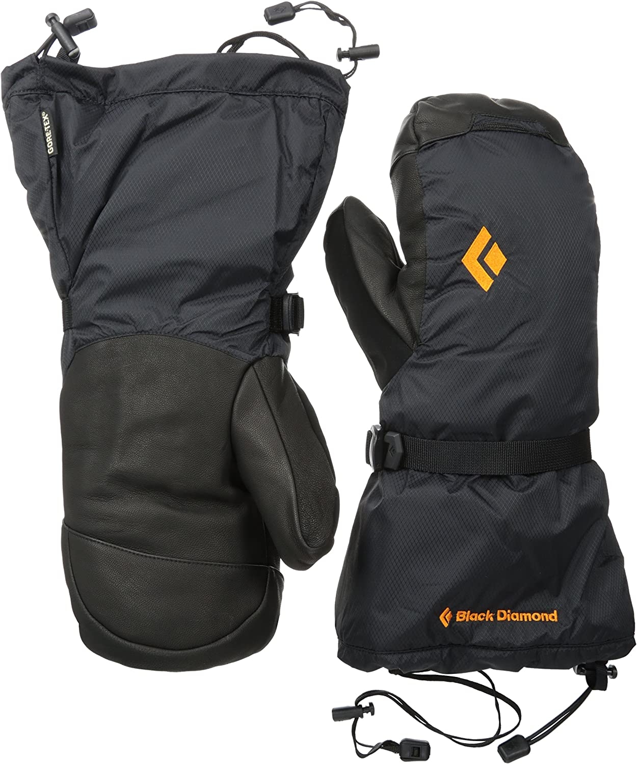 Black Diamond Absolute Mitts Cold Weather Gloves: Clothing