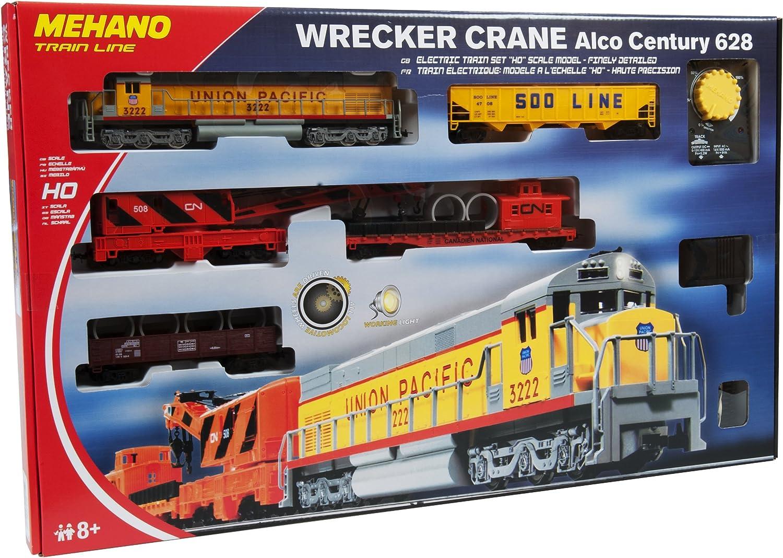 Mehrfarbig Mehano F282 Schiene Weiche Links R457