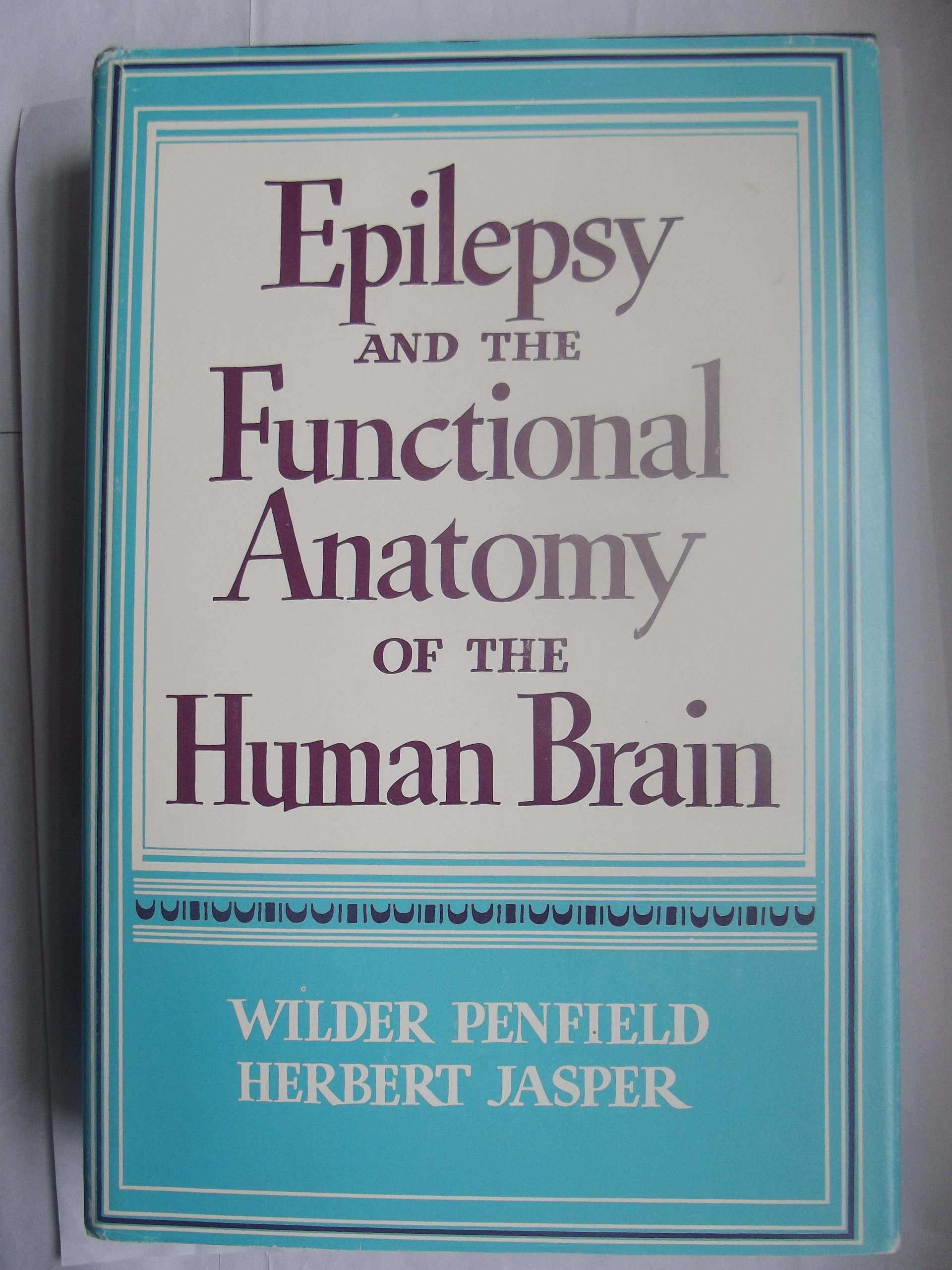Epilepsy And The Functional Anatomy Of The Human Brain Wilder