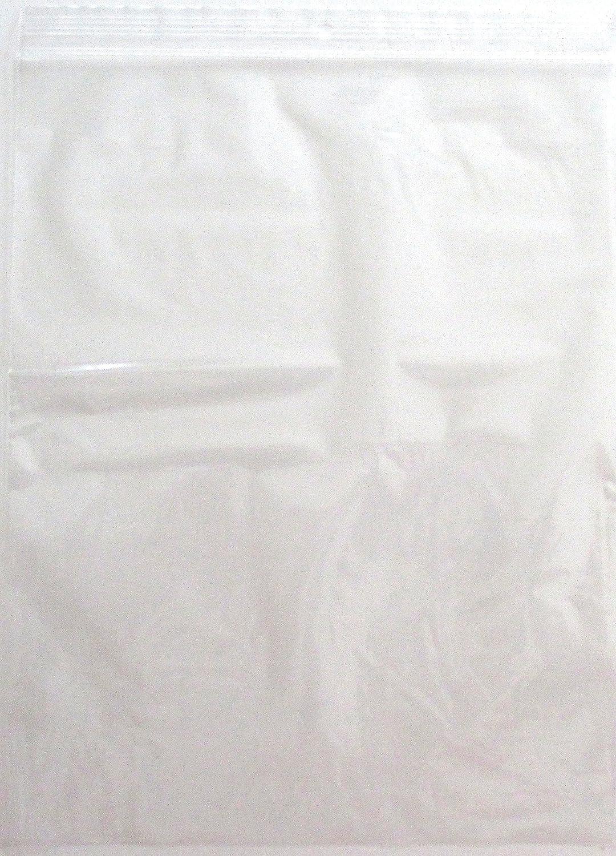 100-8 x 10 CLEAR 2 mil PLASTIC ZIPLOCK BAGGIES