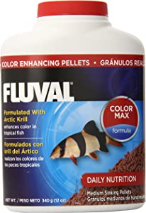 Fluval Hagen 90gm Color Enhancing Pellets Fish Food