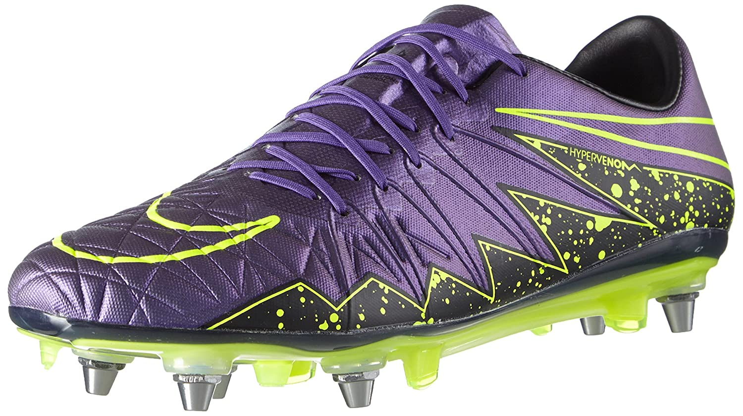 huge selection of 8fd76 2237b Nike Men's Hypervenom Phinish SG-PRO Football Boots, Purple ...