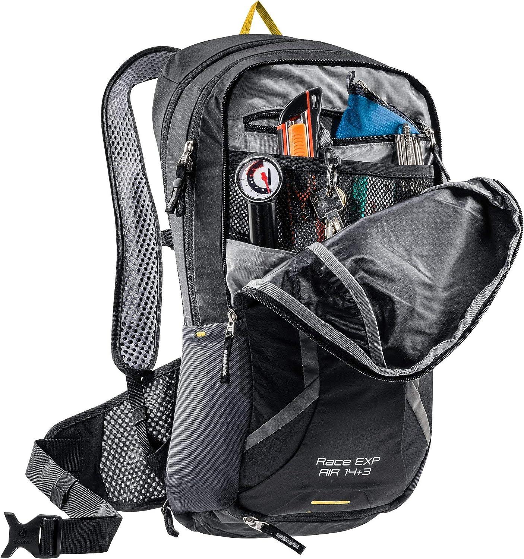 Amazon Com Deuter Race Exp Air Black Casual Daypacks