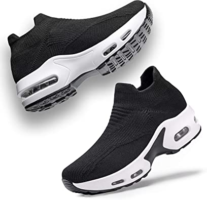 UKUGIJIMA Womens Walking Shoes Slip on