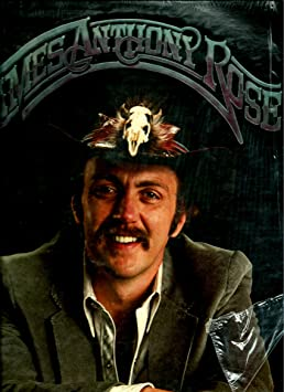 JAMES ANTHONY ROSE - james anthony rose STALLION 1 (LP vinyl