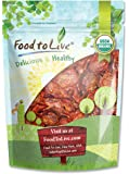 Food to Live Organic Sun-Dried Tomatoes (Salted, Non-GMO, Unsulfured, Bulk) (1 Pound)