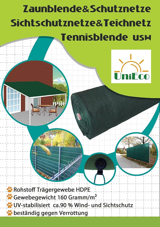 Unieco Zaunblende Sichtschutz Windschutz Sonnenschutz Fur Garten