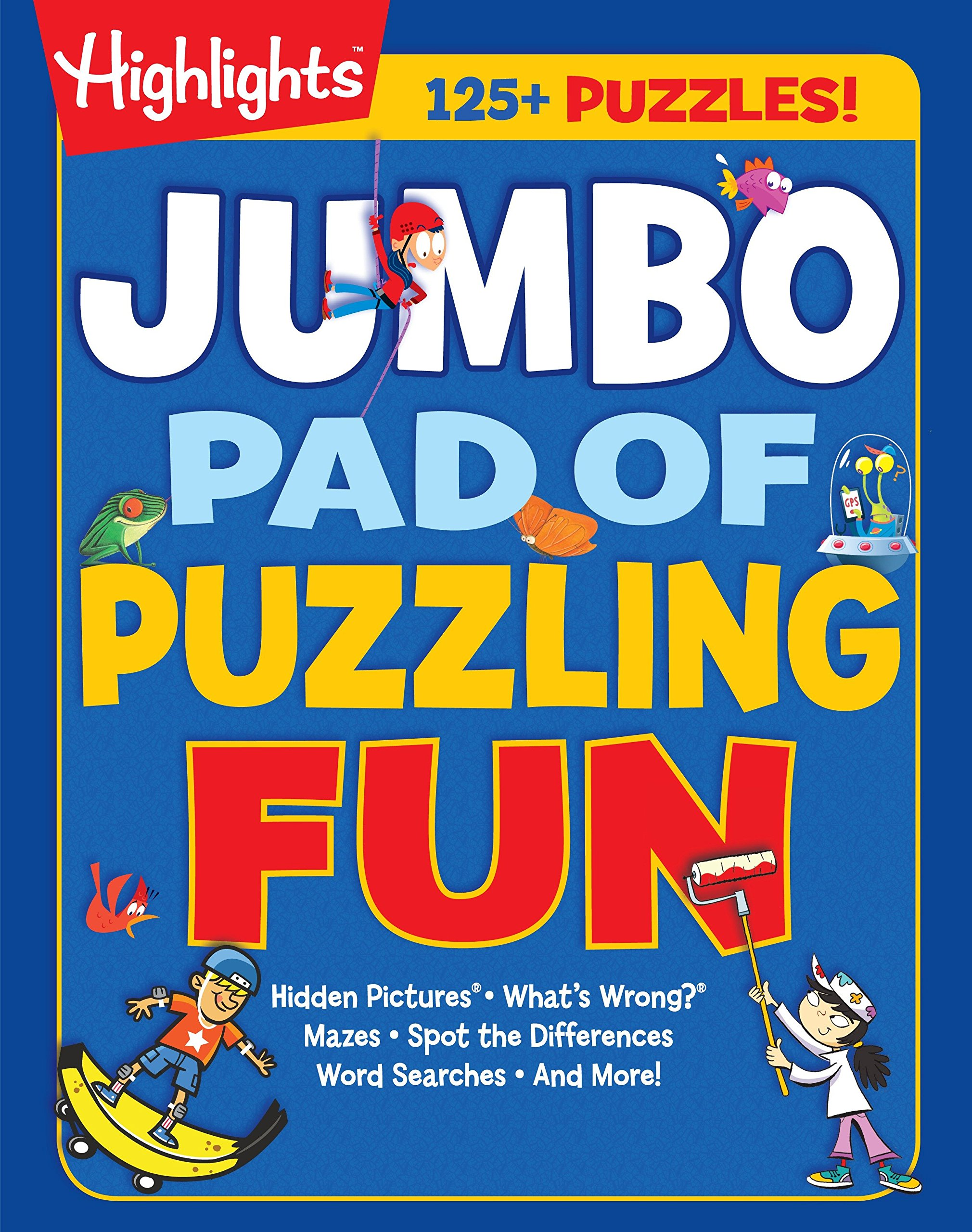 Download Jumbo Pad of Puzzling Fun (Highlights™ Jumbo Books & Pads) ebook