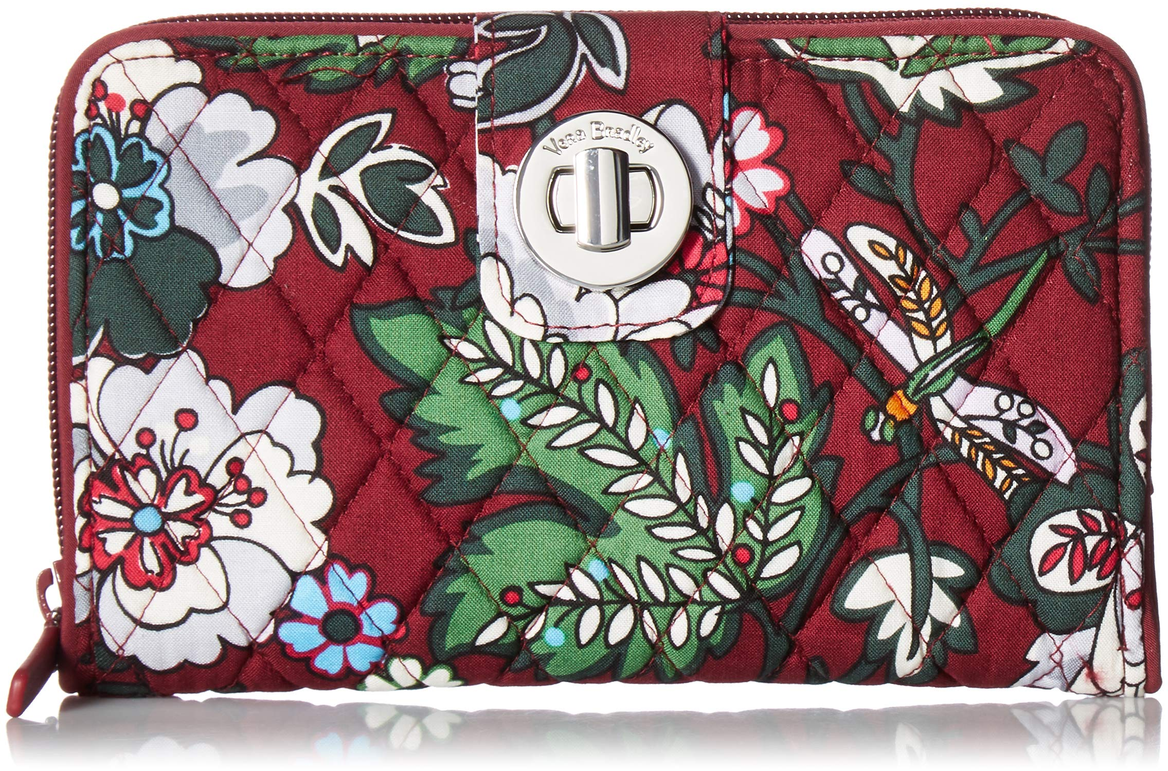 Vera Bradley RFID Turnlock Wallet,  Signature Cotton, One Size by Vera Bradley (Image #2)
