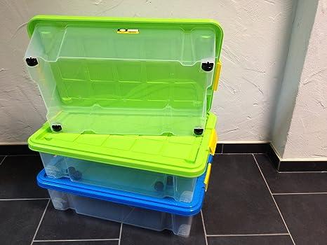 Cassetto Sotto Letto Con Ruote : Pezzi contenitore sottoletto scatola portaoggetti impilabile
