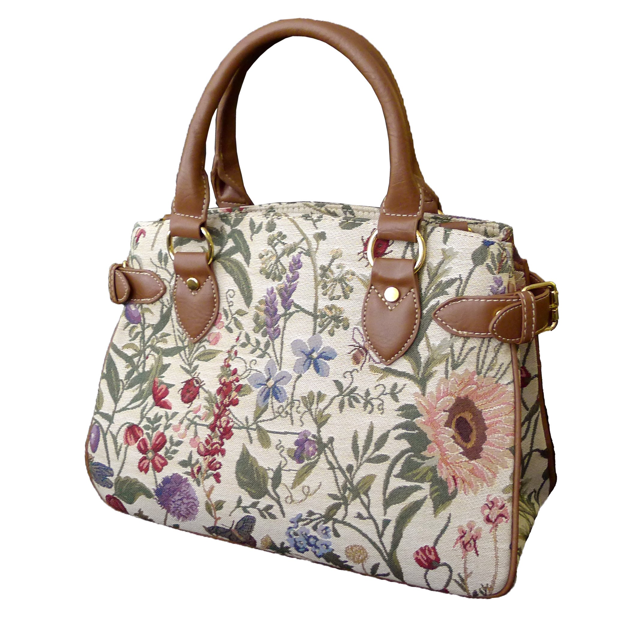 Signare 18873-Morning Morning Garden Center Compartment Purse, Tapestry