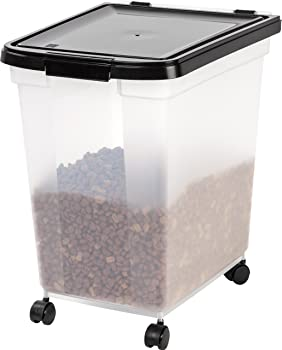 IRIS Nesting Airtight Pet Food Container, Extra Large