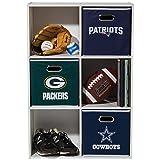 Franklin Sports NFL Dallas Cowboys Fabric Storage