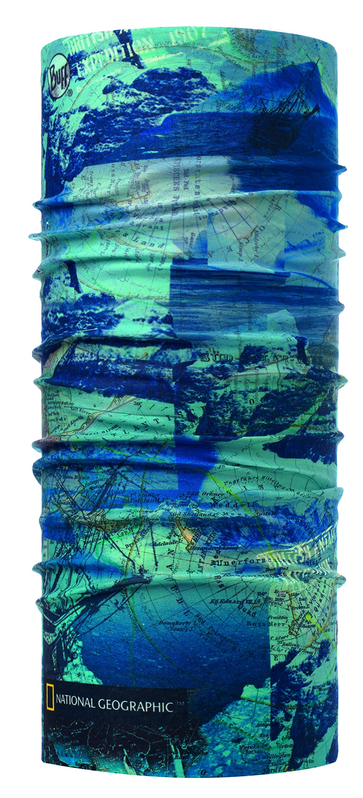 National Geographic Original Buff - Antarctic Ocean Blue - Adult One Size by Buff (Image #1)