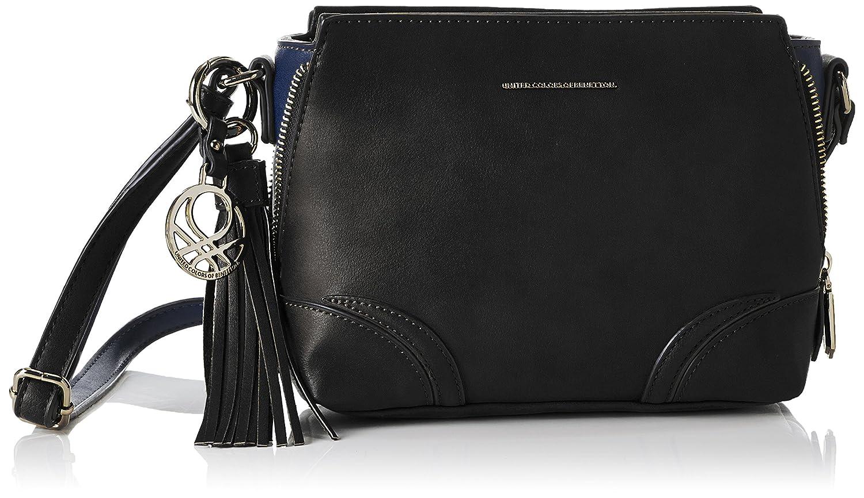 Benetton Sogo, Women's Bag, Black (black Combo), One Size