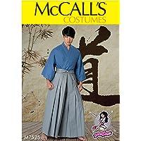 MCCALL 's Patrones de Costura para/para Hombre/Teen Disfraz