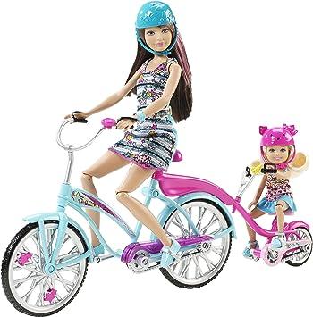 Barbie - Bici para Dos (Mattel): Amazon.es: Juguetes y juegos