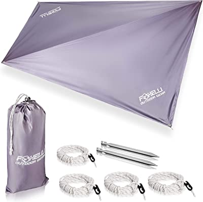 Portable Waterproof Lightweight Rain Tarp
