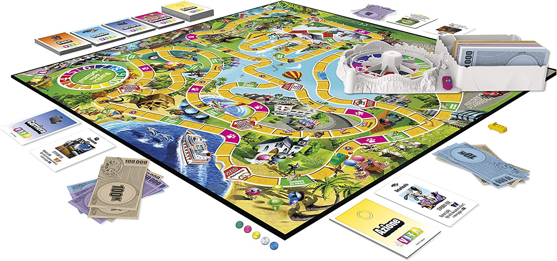 Hasbro Gaming – El Juego de la Vida - Juego de Mesa en Caja Versión 2018 Multicolor: Amazon.es: Juguetes y juegos