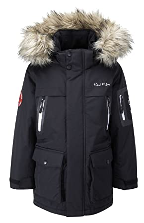 Kozi Kidz Kids' Parka Coat: Amazon.co.uk: Sports & Outdoors