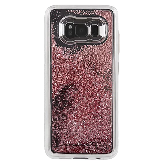 save off 62332 8ad17 Case-Mate Samsung Galaxy S8 Case - WATERFALL - Rose Gold