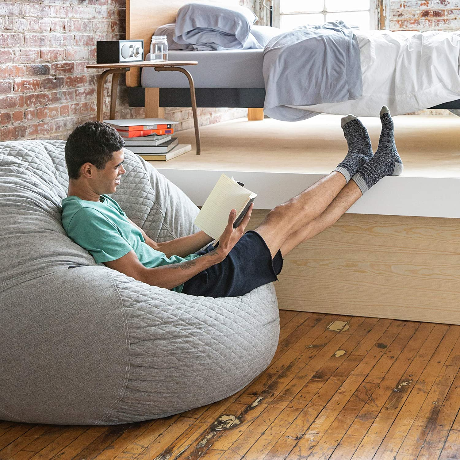 Tuft & Needle Pouch   The Better Bean Bag Chair