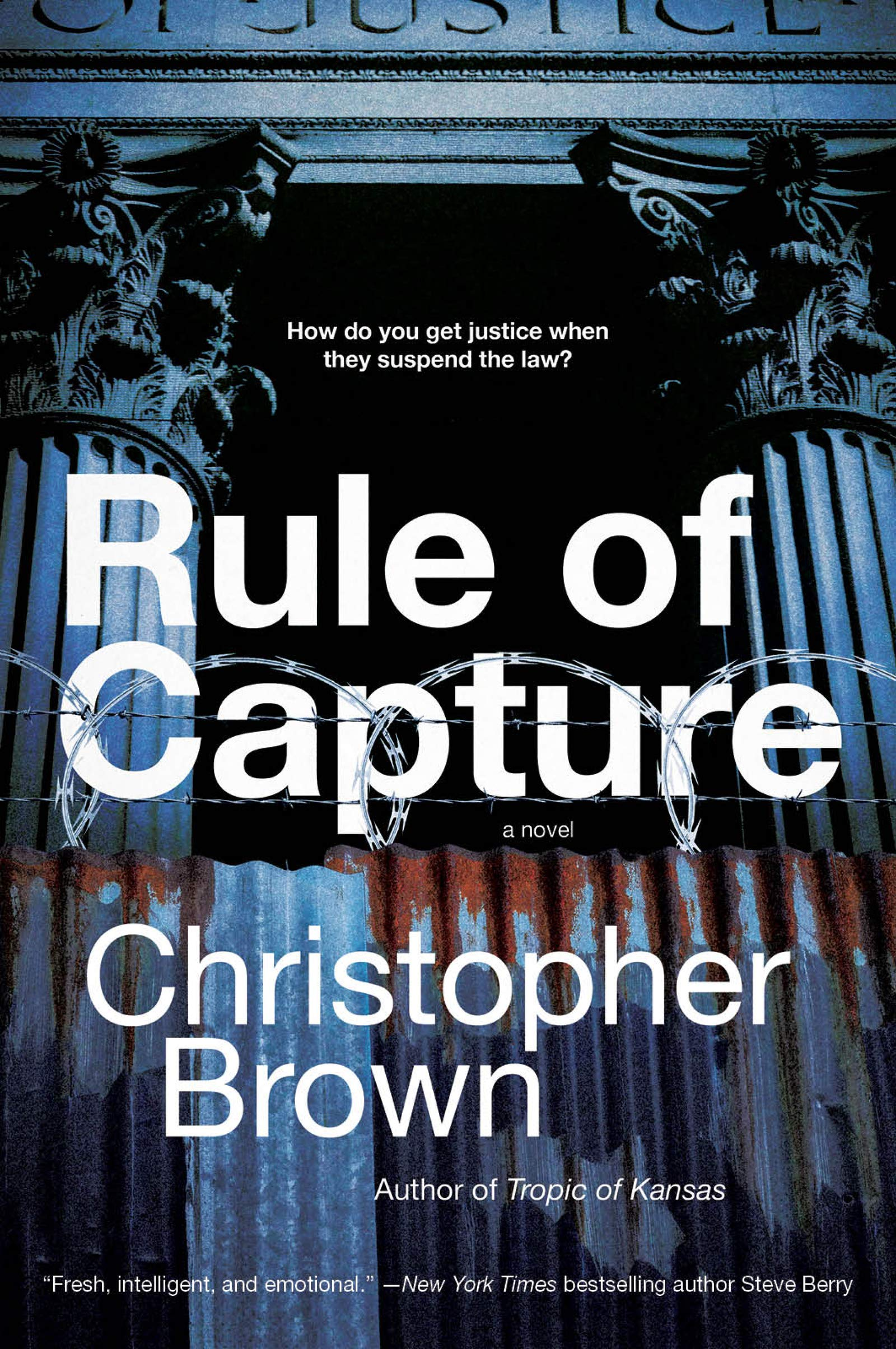 Christopher Brown: Five Things I Learned Writing Rule of Capture