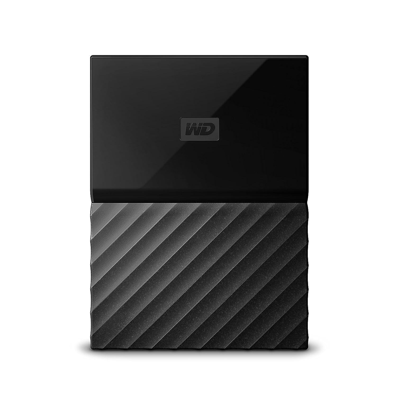 WD My Passport Gaming 2TB - Disco Duro Externo para Playstation 4 - Negro Western-Digital Western Digital WDBZGE0020BBK-WESN