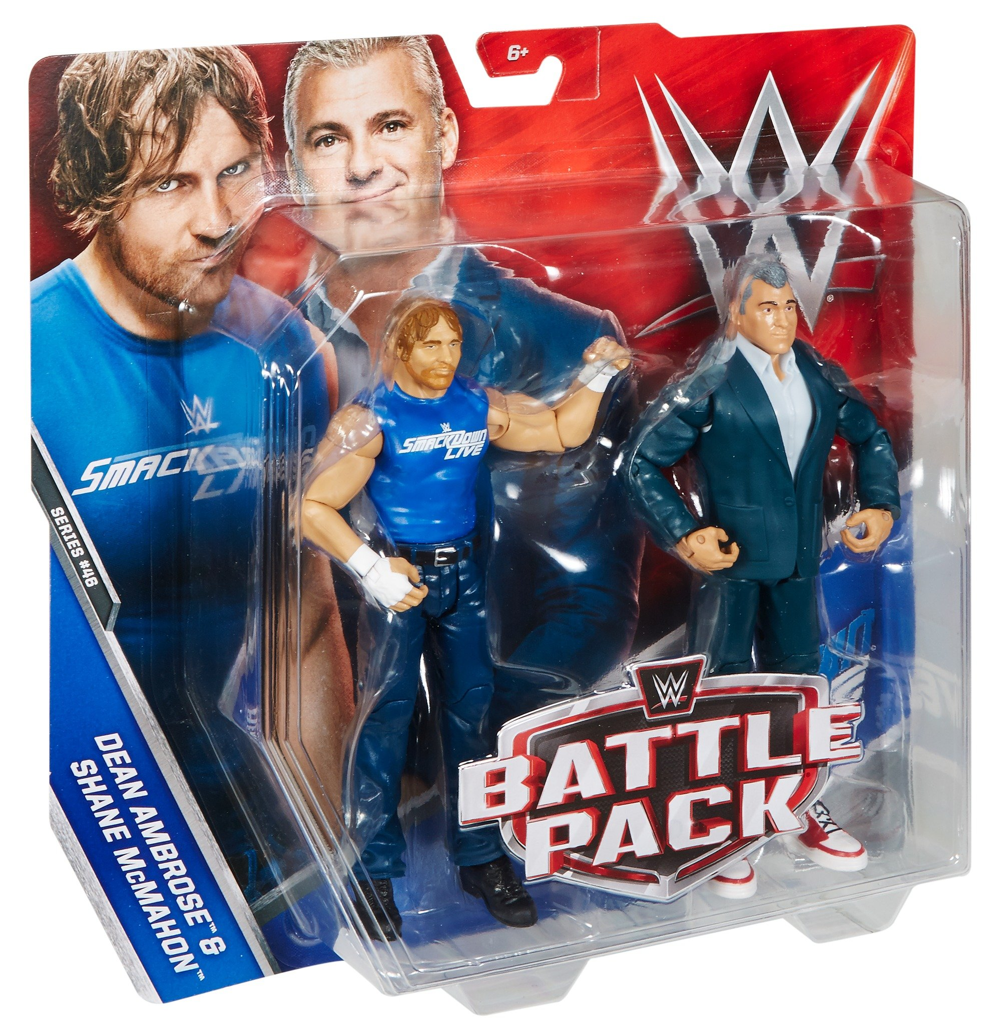 Other Action Figures - WWE Dean Ambrose and Shane McMahon Action