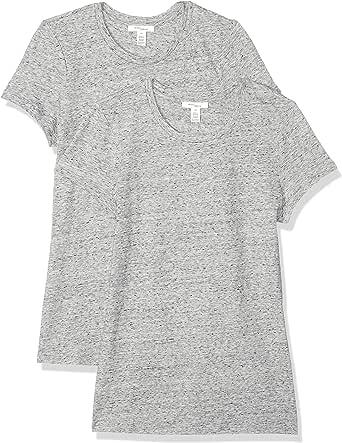 Daily Ritual Amazon Brand Women's Washed Cotton Short-Sleeve Crew Neck T-Shirt