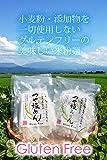 グルテンフリー米粉麺 おやじの米めん(つや姫めん、つや姫うどん) 食べ比べセット120g×20袋