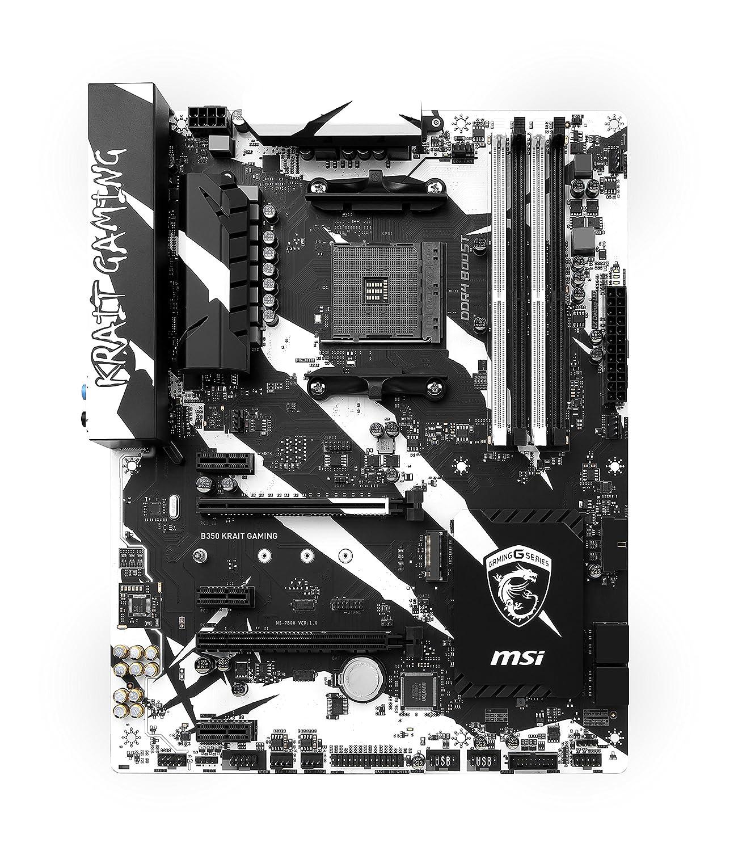 MSI B350 KRAIT GAMING AMD B350 Socket AM4 ATX