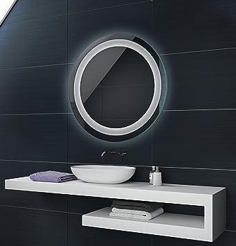 CUSTOM Illumination LED miroir sur mesure eclairage salle de bain