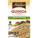 Near East Quinoa and Brown Rice Blend, Rosemary and Olive Oil, 4.9oz Box