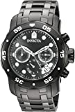 Invicta Men's 'Pro Diver' Quartz Stainless Steel Watch, Color:Black (Model: 21926)