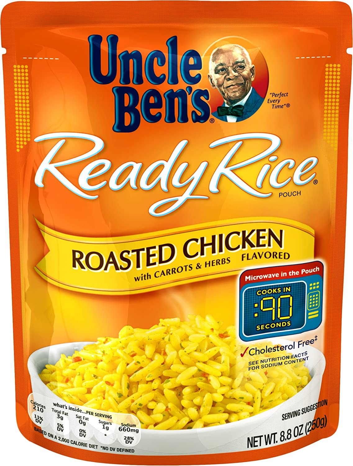 UNCLE BEN'S Ready Rice: Roasted Chicken Flavor (12pk)