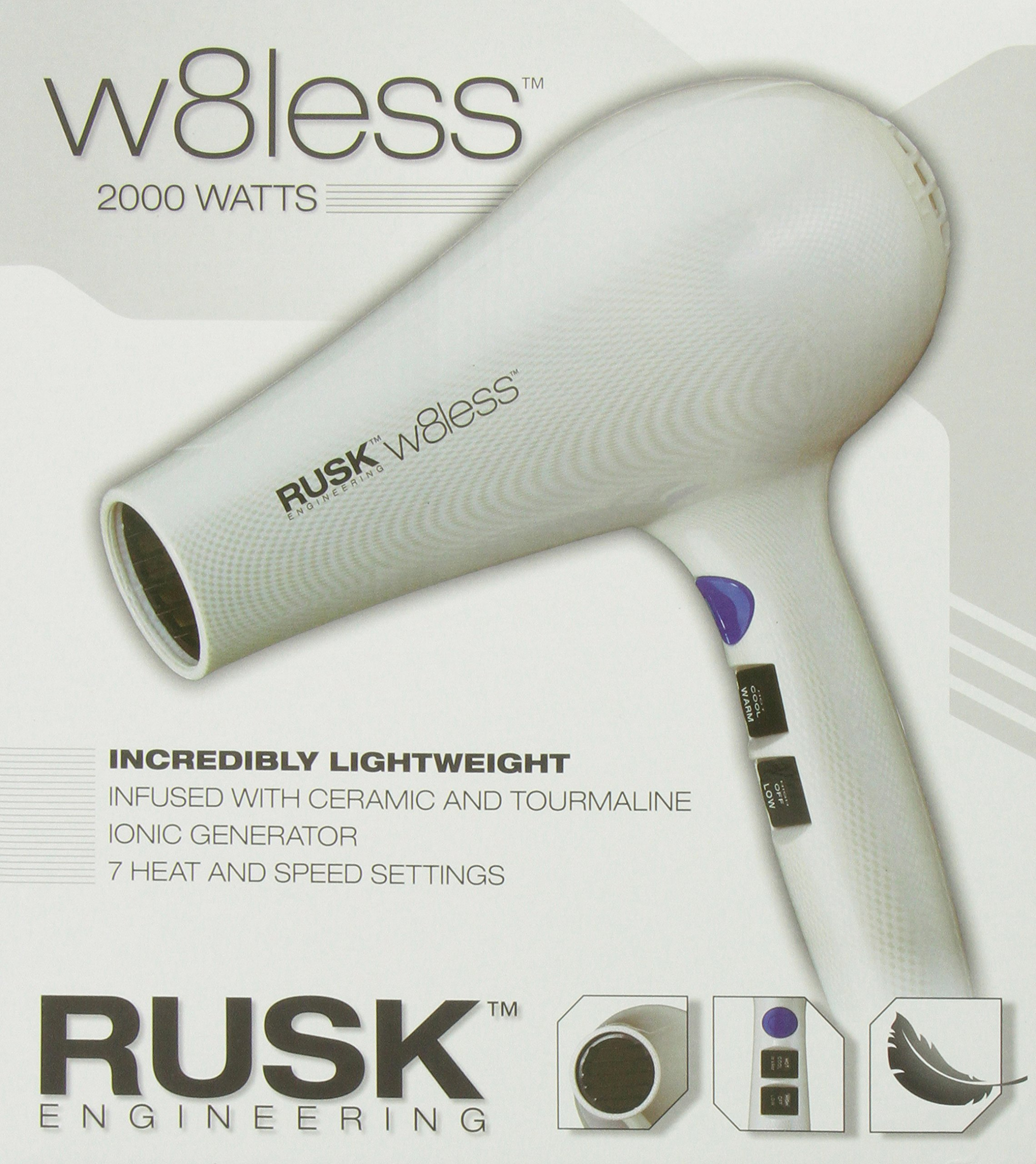 RUSK Engineering W8less Professional 2000 Watt Dryer by RUSK (Image #5)