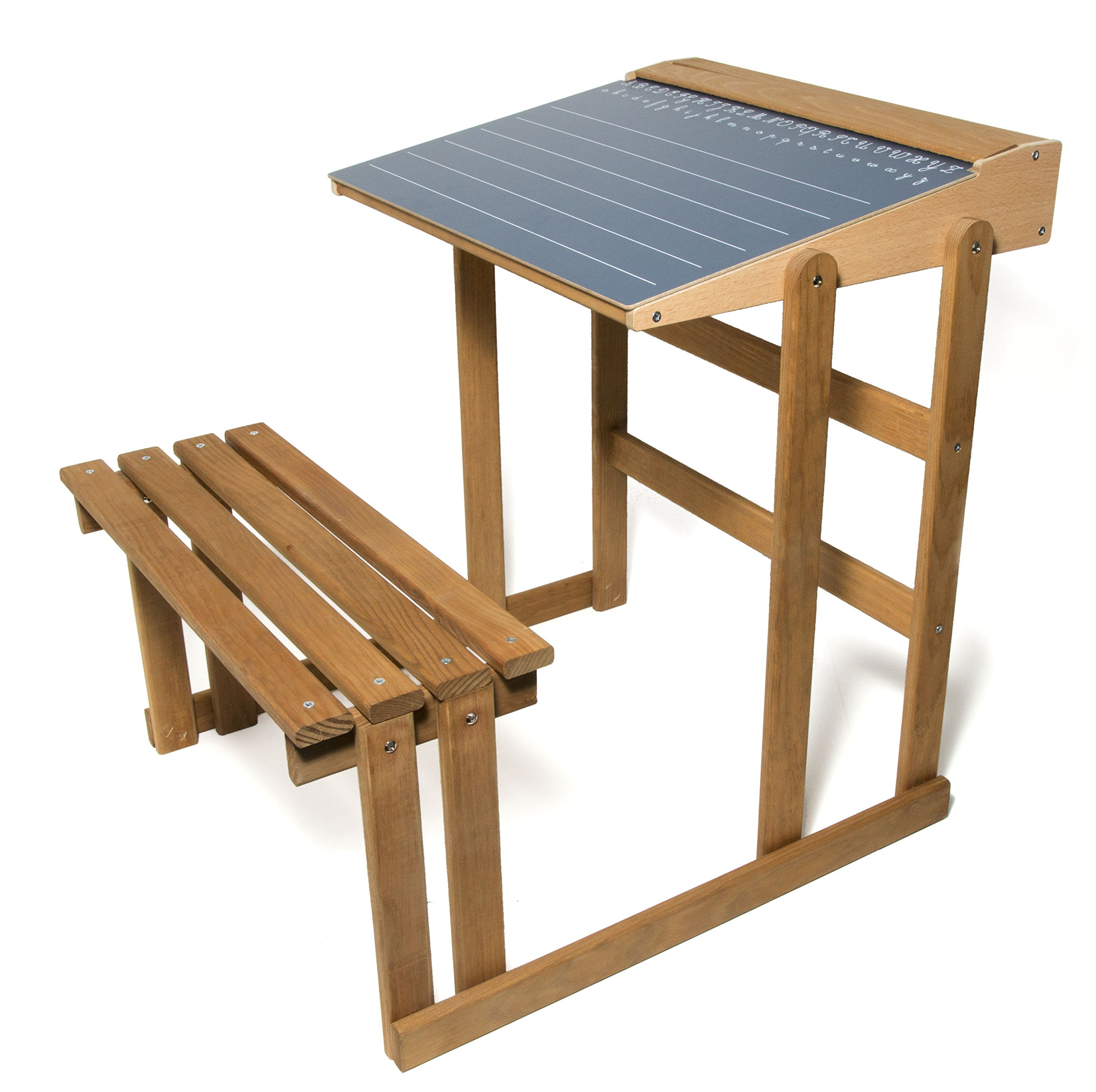 School SchoolJ8862 Desk in Oak-Coloured Wood